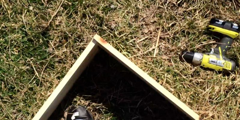 How to Build a Raised Bed: Cheap and Simple